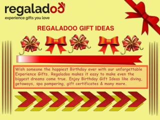 The Perfect Gift Ideas Regaladoo