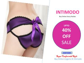 Buy Stylish and Fancy Panties Online