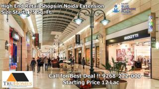 Buy Commercial Spaces at Galaxy Blue Sapphire Noida