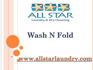 Wash N Fold - www.allstarlaundry.com