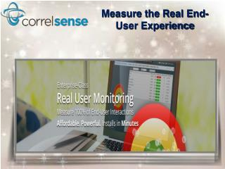 Measure the Real User