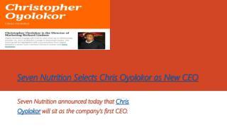 Christopher Oyolokor