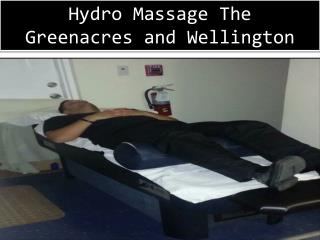 Hydro Massage in Greenacres and Wellinton