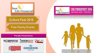 Cultural Festival 2016 in Calgary - Free Family Event