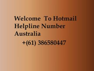 How To Reset A Lost Hotmail Password:Contact Hotmail Support Australia