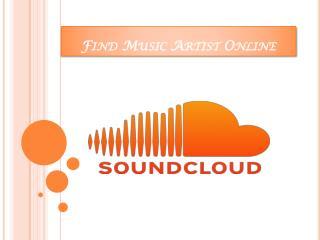 Find Music Artist Online