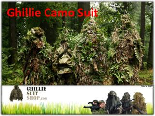 Ghillie Camo Suit