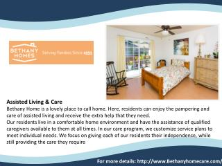Our Testimonials - Bethany Home Care
