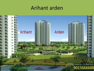 Arihant Arden Greater Noida Apartments