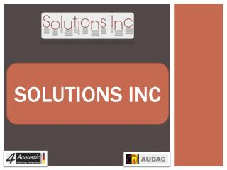 SOLUTIONS INC(MINI STEREO)