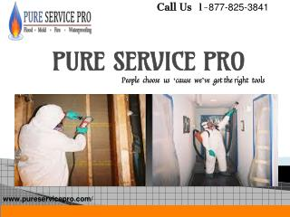 50  Years Providing Waterproofing and Restoration Services-PureServicePro