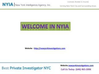 Private Detective Agency in NYC