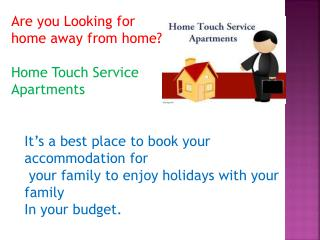 Serviced Apartments near Gachibowli Hyderabad, Furnished guest houses near Gachibowli Hyderabad, Guest Houses in hyd