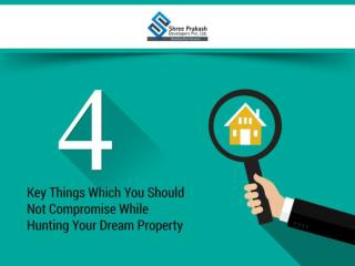 4 Key Things Which You Should Not Compromise