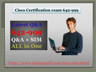 100% Exam Passing Guarantee on 642-999 | Dumpspdf