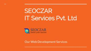 Web Application Development | Ecommerce Website Development | SEO Services