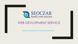 Offshore Web Development Company - SEOCZAR | Best Website Development