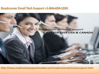 Roadrunner Email Tech Support|  1-844-659-1035