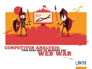 Competitor Analysis: A Roadmap to Win the Web War