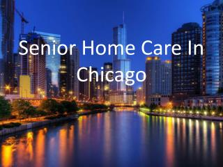 Senior Home Care In Chicago