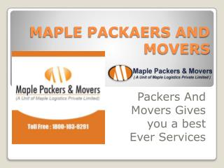 Best Packers and Movers Services Provider in Delhi