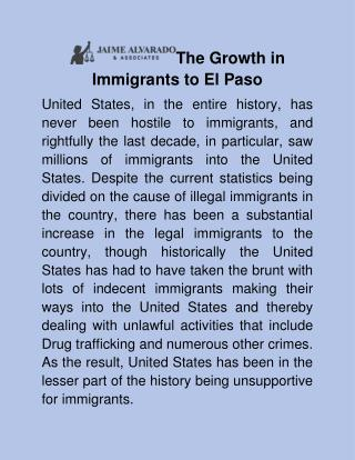 Immigration lawyer in El Paso
