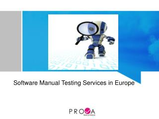 ProvaSolutions - Manual Software testing services Europe