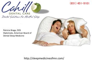 Snoring & Sleep Apnea Treatment in St Paul & Minneapolis