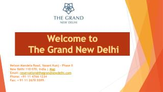 The Grand New Delhi Hotel near Airport