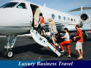 Luxury Business Travel: Choosing between Private Jets and First Class in Commercial Jets