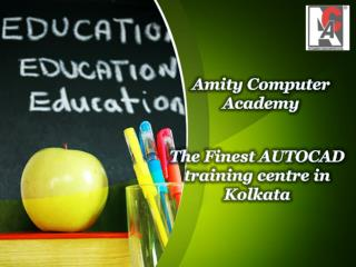The Finest AUTOCAD training centre in Kolkata