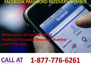 Facebook Password Recovery Number 1-877-776-6261for USA & Canada