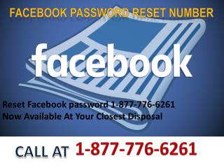 Facebook Number 1-877-776-6261  for Facebook password reset