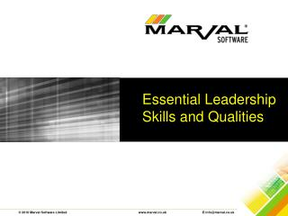Essential Leadership Skills and Qualities