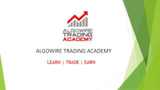 Best Share Market Course ! http://www.algowireacademy.com/