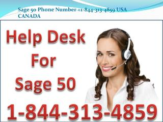 Sage 50 Tech Support  1 844 3(1)3 4859 Sage Customer Support & Service Number