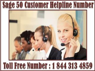 Sage 50 & 100 @   1 8 4 4 3 1 3  48 59 - Sage 50 Customer Help Support & Service Number