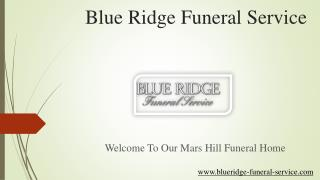 Mars Hill Funeral Home