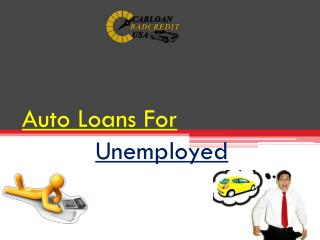 Student Car Loan No Employment