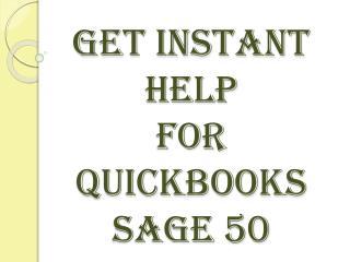 Get Instant Online Help for Sage50