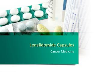 Lenalidomide Lenmid Capsules  | Cipla Lenmid | Generic Lenalidomide Capsules