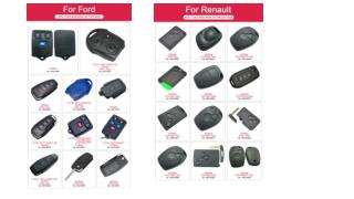 OEM Remotes & Smart Keys, New & Refurbished OEM remote controls & Smart keys, Opening Tools Trubo Decoder and Lishi Tool