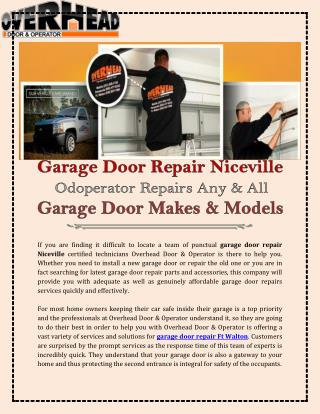 Destin Garage Door Repair