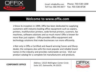 Multifunction Printer - Offix-PPT