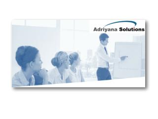 Adriyana Solutions Profile