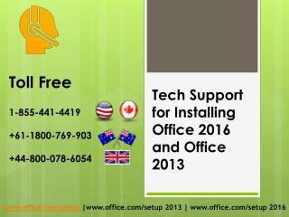 www.office.com/setup |1-855-441-4419 - (USA) | MS Office Helpline