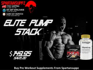 Buy Pre Workout Supplements From Spartansuppz