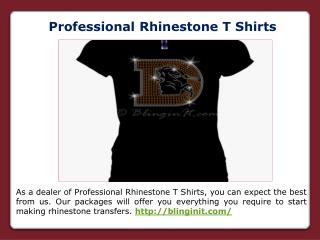 Birthday Rhinestone T Shirts