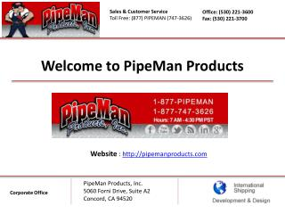 Pipe Repair - Pipe Man Products