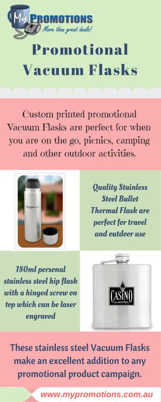 Infographic about Promotional Vacuum Flasks